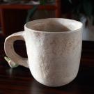 白ベージュマグカップ