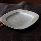 四角リム皿
