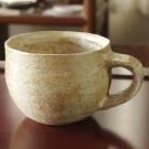 ベージュスープカップ