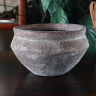 穴窯泥彩鉢