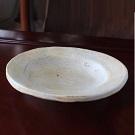 白ベージュ楕円皿